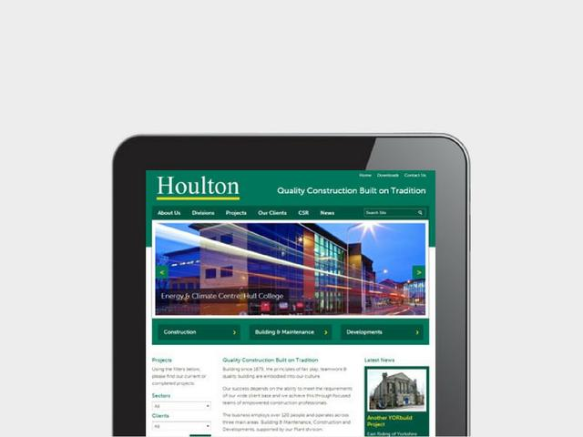 Hull based Houlton team up with indicoll for new website